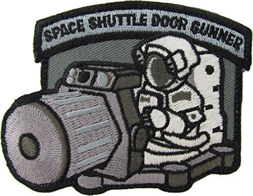 MilSpec Monkey Shuttle Door Gunner Morale Patch (SWAT (Black))