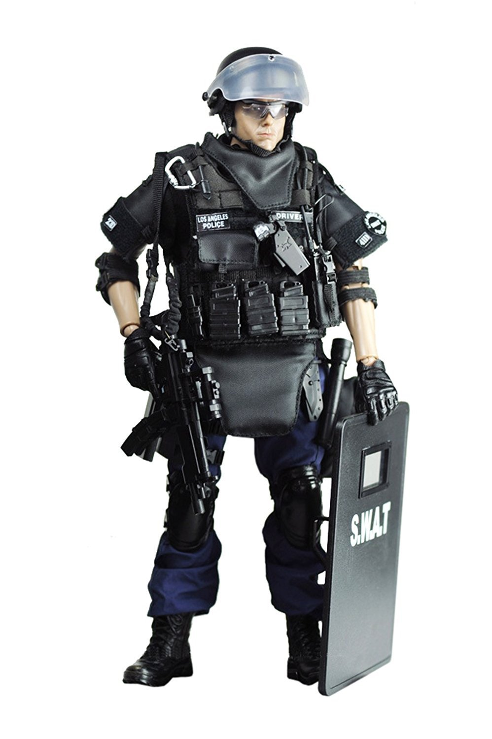 "1//6 SWAT Police Officer Uniform Guns /& Accessories For 12/"" Action Figure Set 1"