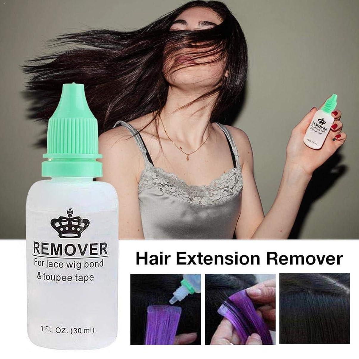 知覚できる消えるカラス毛のりの除去剤、レースのかつらのToupeeの皮のよこ糸のテープのための極度の毛の付着力の除去剤の接着剤の除去剤のびん