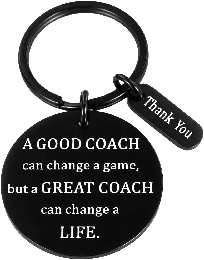 Coach Thank You Gifts Keychain for Bas Max 87% OFF Women OFFicial mail order FootBall Soccer Men
