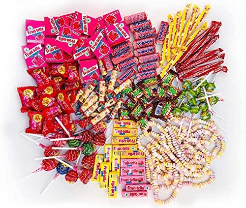 Chupa Chups Kinder Süßigkeiten Mix, 150-teilig, mit Lollis, Kaugummis, Kaubonbons & Spezialartikeln, Mentos, Center Shock, Fruittella, Look-o-Look, Ideal zum Befüllen von Schultüten 1300 g