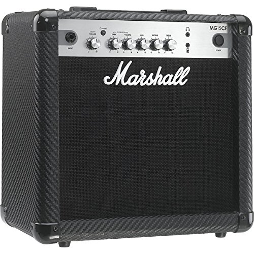 Marshall MG15CF 15 Watt Guitar Amp Carbon Fibre Finish