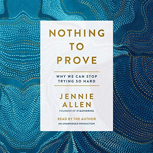 Nothing to Prove audiobook cover art
