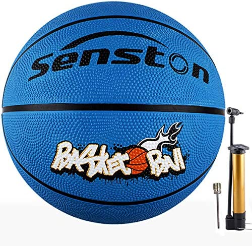 Senston 27 5 Kids Junior Basketball Balls Youth Size 5 Basketballs 27 inch Boys Game Ball Blue product image