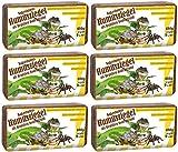 Humusziegel - Substrat Coco Pour Terrarium - Reptile Substrat - 6 x 650g - 50 L