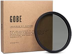 Gobe CPL 52mm Japan Optics 16-Layer Multi-Coated Polarized Filter
