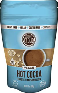 Coconut Cloud: Dairy-Free Instant Hot Cocoa Mix | Natural, Delicious, Creamy Chocolate | Made in Colorado from Premium Coconut Milk Powder (Vegan, Non-GMO, Gluten Free), Toasted Marshmallow, 7 oz