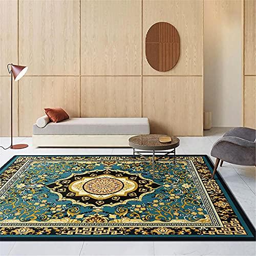 Kunsen decoración casa alfombras Infantiles niña Dormitorio Retro Alfombra Rectangular Cómoda Pérdida alfombras Comedor 40X60CM 1ft 3.7' X1ft 11.6'