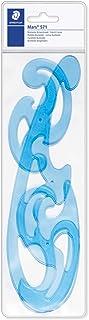 Staedtler 571 40 WP Mars - Plantillas Burmester (3 formas, en caja de transporte), color azul