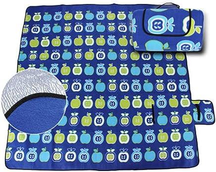 Pessica Outdoor Wasserdichte, eingezäunliche Samtpicknick Matte Wear-resistente Oxford Tuch Picknick-Matte Feuchtigkeit Besteändige, sichere ungiftige Picknick-Matte,I,200CM300CM B07Q6W43L2 | Offizielle