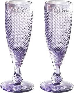 Best purple champagne glasses Reviews