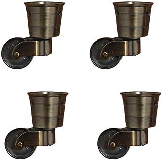zwenkwielen met rem, Caster Wheels, Antique Meubels Swivel Caster 360 Graden Rotated Swivel Caster Wheel, Vervanging Casto...