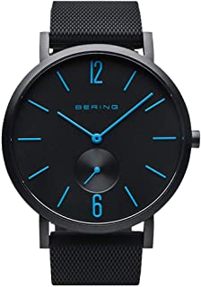 BERING Unisex Analogue Quartz Watch with Silicone Strap 16940-499