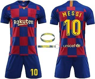 55e2023fc06 Daoseng Camiseta Jersey Futbol Barcelona 2018-2019 Traje de niños Manga  Corta + Pantalones Cortos
