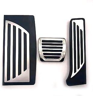ZHANGERDAN Car Styling Car Copri pedaliera in acciaio inossidabile per auto MT Car Styling Accessori auto./Per Peugeot 206 206CC