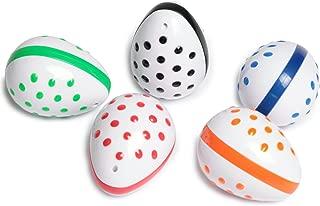 Edushape Musical Instruments Egg Shaker Set, Assorted
