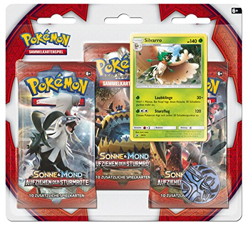 Pokemon 25971 Pokémon Company International 25971-PKM SM04 3-Pack Blister DE
