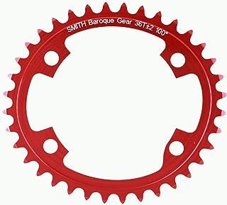 Baroque Gear 36T ±2 100° 4穴 赤
