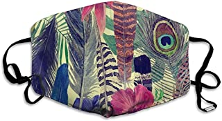 Monkey India Series Summer Dustproof Distinctive-Feathers and Leaves-One Size