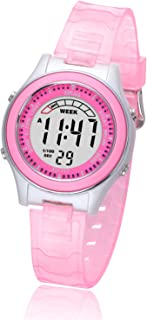 Kids Digital Watches for Girls Boys,Child Cute Waterproof Wristwatch Outdoor Multifunctional Watches with Soft Strap Suitable for Ages 4-13