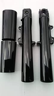 black lower fork sliders