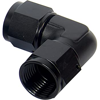 Oil Inlet Restrictor Premium Metal 4AN Inline Oil Inlet Restrictor Straight Fitting 4AN Male to 4AN Female 0.035in