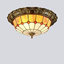 Pastoral Ceiling Lamp American Antique Ceiling Lamp Living Room Dining Room Corridor Entrance Hall Balcony Ceiling Lightin...