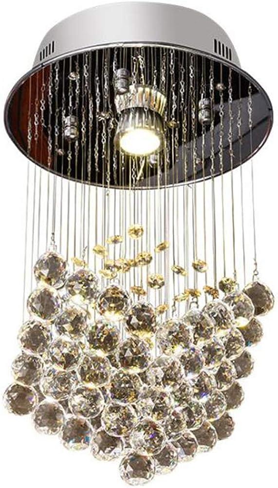 Saint mossi modern k9 crystal goccia di pioggia lampadario Llpopo-277