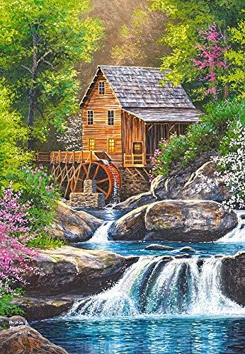 Castorland CSC104055 C-104055-2 Spring Mill, 1000 Teile Puzzle, bunt