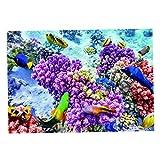 Fenteer Fondo Adhesivo de La Imagen de Los Pescados de La Planta de Los Pescados 3D de La Definición para El Acuario - Multicolor XXL, tal como se describe