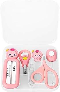کیت ناخن کودک - 6 در 1 - مراقبت از ناخن کودک با کلیپس ، قیچی ، ناخن ، موچین ، دماسنج آب ، ست گوش گوشواره ای ناخن آرایش ناخن کیت مانیکور کودک برای نوزاد ، کودک نو پا ، کادو کودک