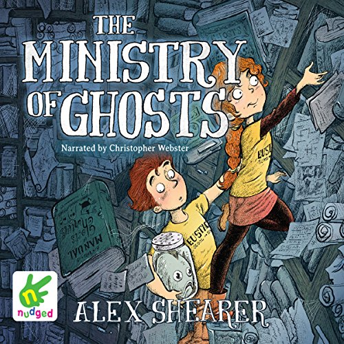 The Ministry of Ghosts audiobook cover art