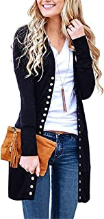 Cardigan Sweaters for Women Knitwears Long Sleeve Button Down Cardigans