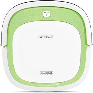 Ecovacs DEEBOT SLIM aspiradora robotizada Bolsa para el polvo Verde, Blanco 0,32 L - Aspiradoras robotizadas (Bolsa para el polvo, Verde, Blanco, Plaza, 0,32 L, 60 dB, Sensor de infrarrojos)