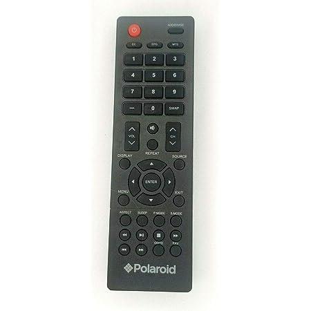 Easytry Remote Control for Polaroid PLEDV1945A-B PTV2203LED 32GSD3000FB 22GSD3000F 32GSR3000FC 55GTR3000 DE416T1N4AU-PA4 LED LCD HDTV TV Television