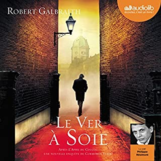 Le ver à soie audiobook cover art