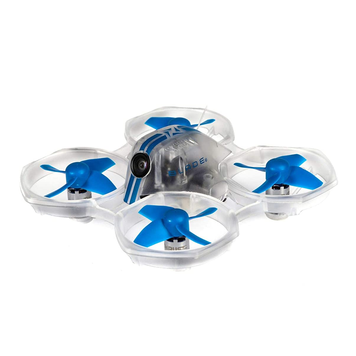 Blade Inductrix FPV BL BNF Basic RC Drone with Safe Technology, Blue