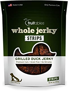 Fruitables Whole Jerky Grilled Duck Dog Treats
