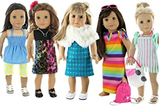 Doll Club of America 28 Piece Holiday Lot Fits 18-Inch American Girl Doll Clothes
