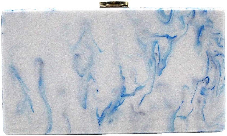 Honneury Damen blaue Tinte Muster Umhängetasche Diagonale Tasche Acryl Tasche Handtasche Abendtasche 1 Pack B07P966S5C  Praktisch und wirtschaftlich