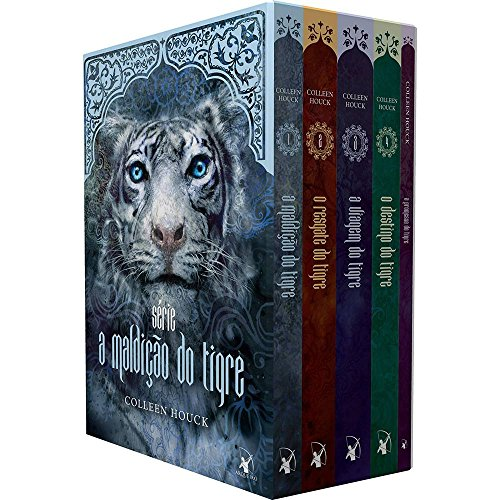 Box A Maldicao Do Tigre (5 Volumes)
