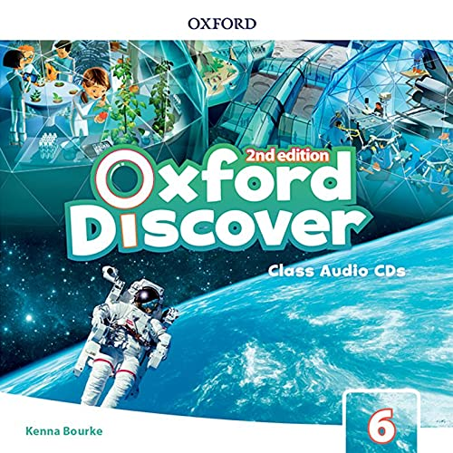 Oxford Discover: Level 6: Class Audio CDs