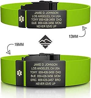 cycling id bracelet