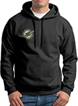 CopperThera Men's Miami Dolphin Salute to Service-01-01 Pullover Hoodie