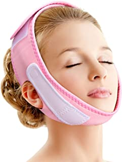 Noverlife Facial Lifting Slimming Belt, V-Line Chin Cheek Lift Up Band for Women, Double Chin Care Weight Loss V Face Anti Wrinkle Bandage Correction Belt