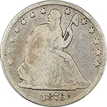 seated liberty half dollar 1876