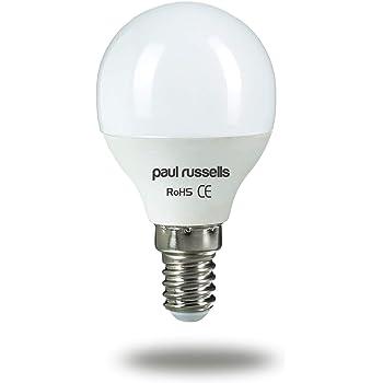 3 Pack 5 W bombillas LED E14 SES rosca Edison pequeña, Paul ...