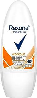 Rexona Workout Antiperspirant Roll-on For Women, 50 ml