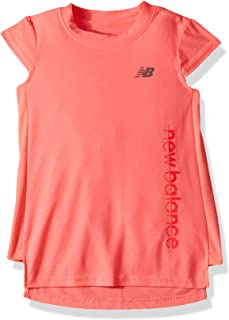 New Balance girls S/S Performance Top Shirt