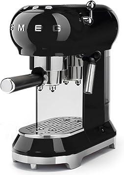 Smeg Espresso Machine Black ECF01 BLUS